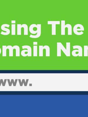 Making-a-Good-Domain-Name